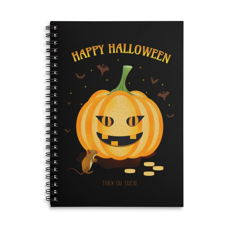 Trick or Treat Accessories Notebook by eligodesign's Artist Shop