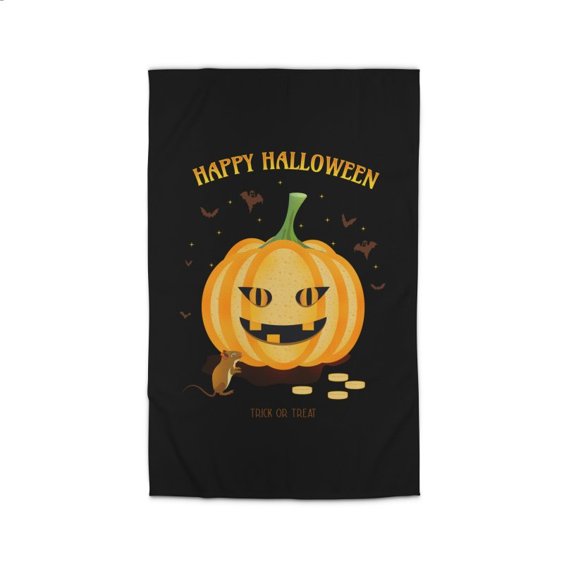 Trick or Treat Home Rug by eligodesign's Artist Shop