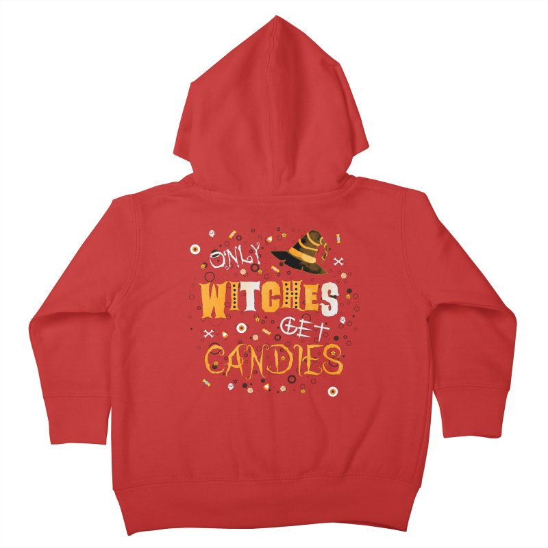 Only Witches Kids Toddler Zip-Up Hoody by eligodesign's Artist Shop