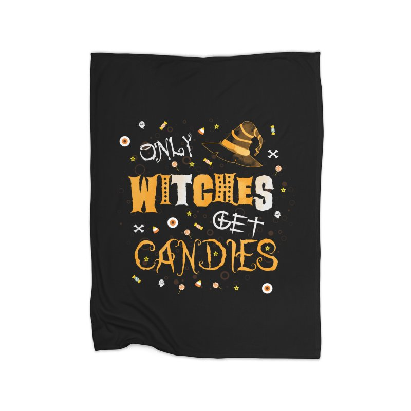 Only Witches Home Blanket by eligodesign's Artist Shop