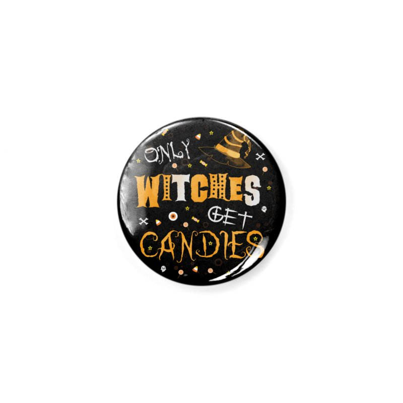 Only Witches Accessories Button by eligodesign's Artist Shop
