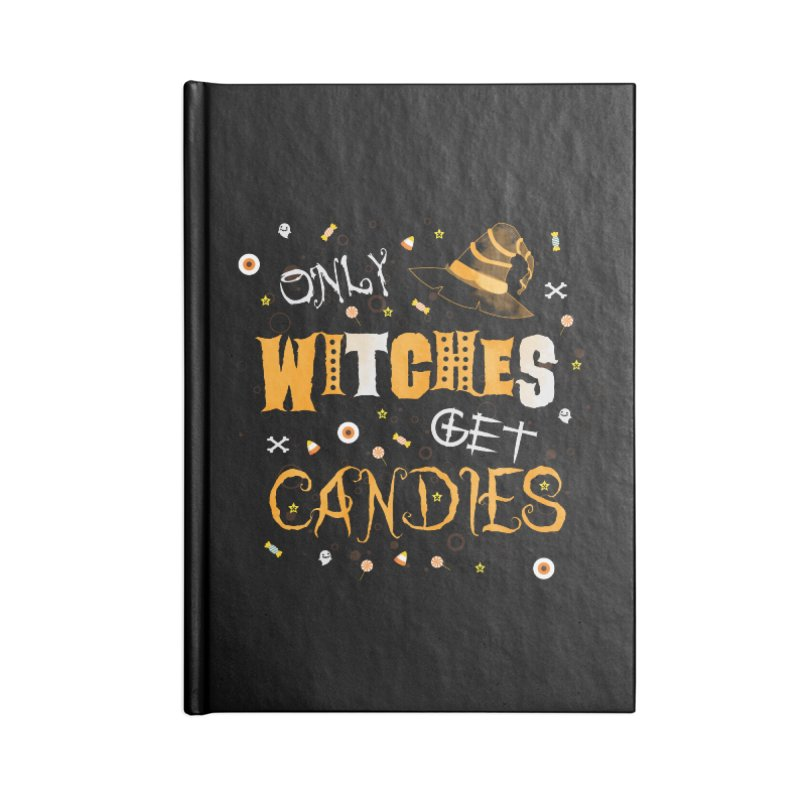 Only Witches Accessories Notebook by eligodesign's Artist Shop