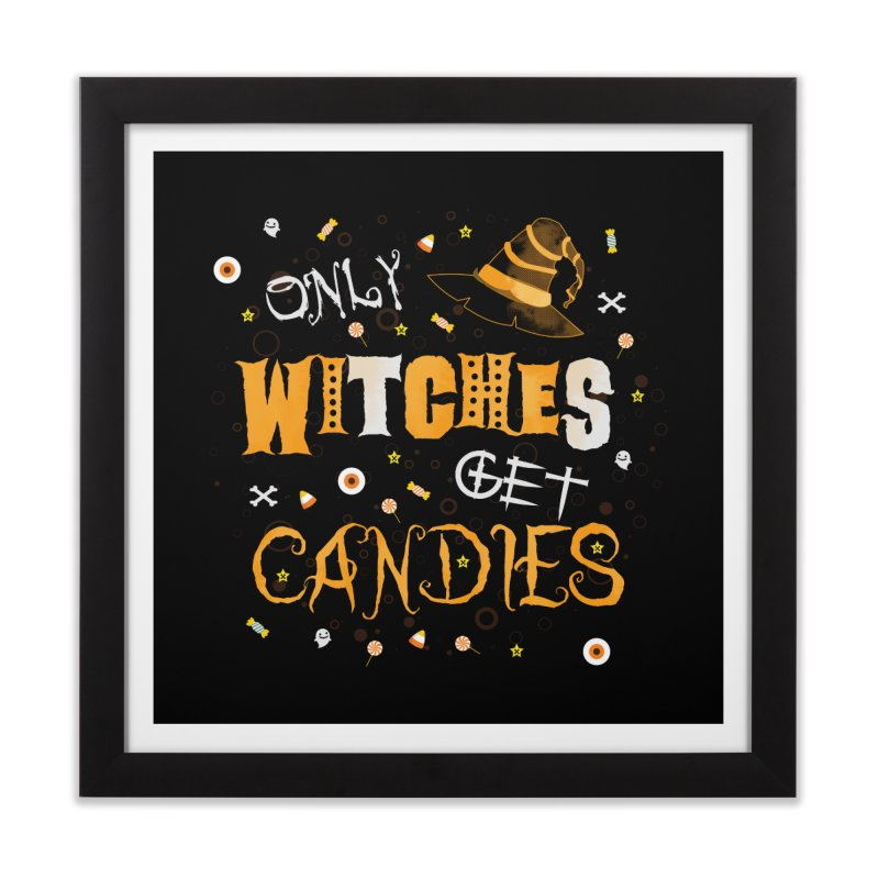 Only Witches Home Framed Fine Art Print by eligodesign's Artist Shop