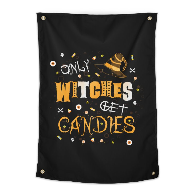 Only Witches Home Tapestry by eligodesign's Artist Shop