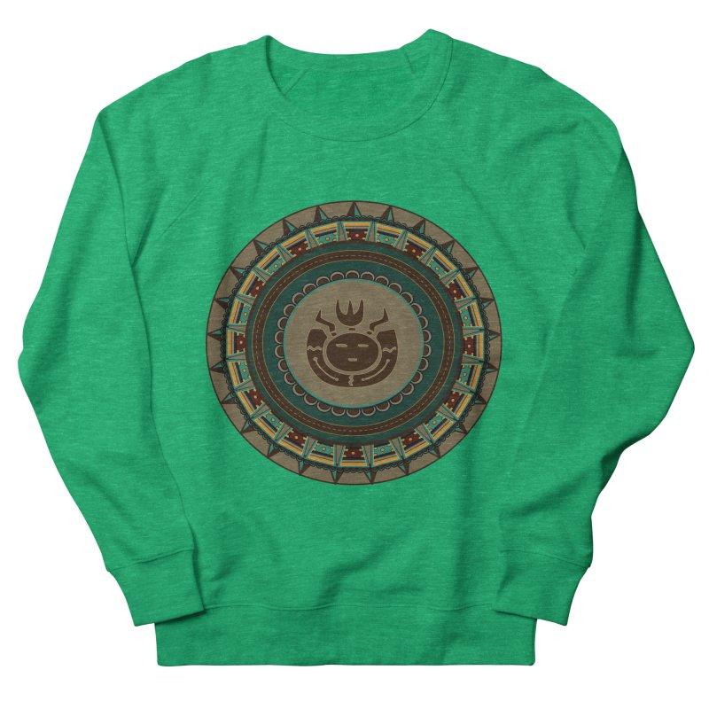 Tribal Face Glyph Women's Sweatshirt by eligodesign's Artist Shop