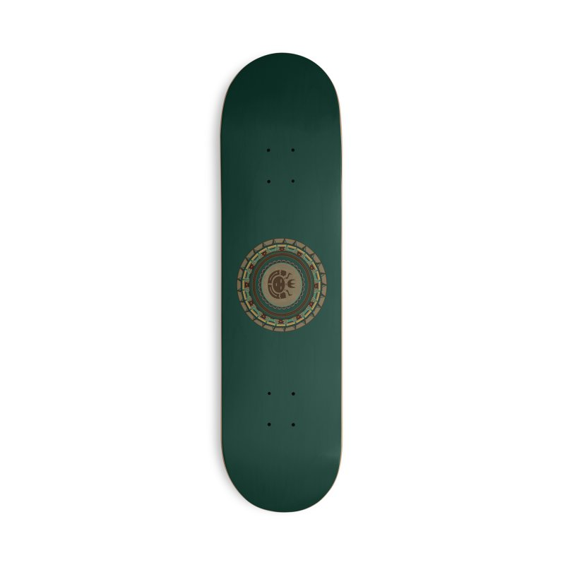 Tribal Face Glyph Accessories Skateboard by eligodesign's Artist Shop