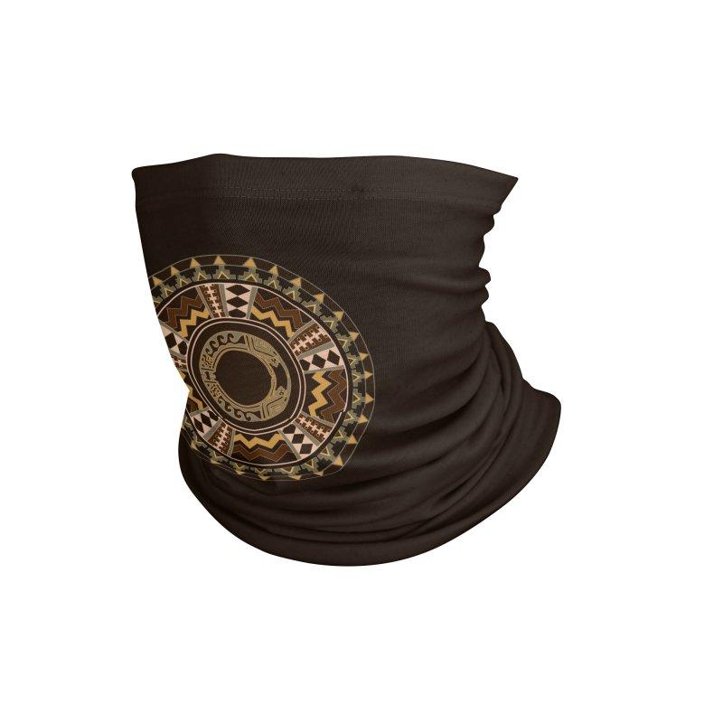 Tribal Dance Mandala Accessories Neck Gaiter by eligodesign's Artist Shop