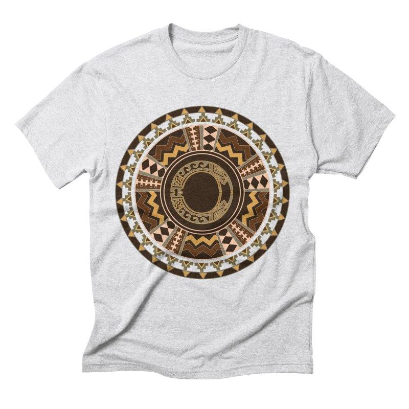 Tribal Dance Mandala Men's T-Shirt by eligodesign's Artist Shop
