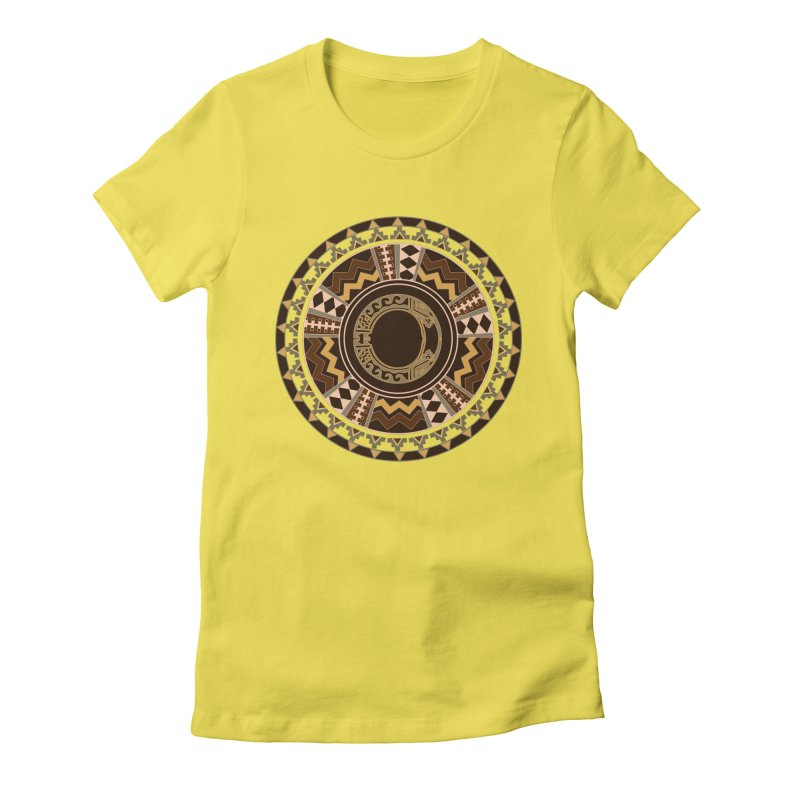 Tribal Dance Mandala Women's T-Shirt by eligodesign's Artist Shop