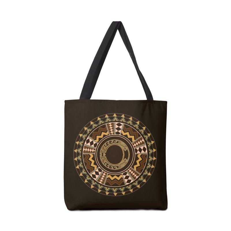 Tribal Dance Mandala Accessories Bag by eligodesign's Artist Shop
