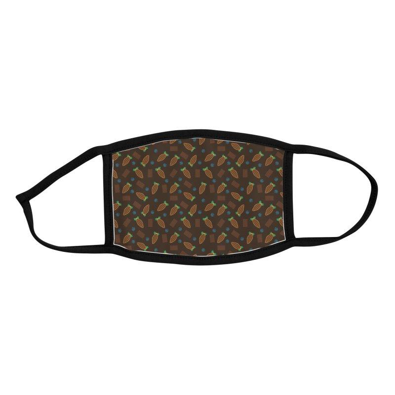 Xocolatl Cocoa Pattern Accessories Face Mask by eligodesign's Artist Shop