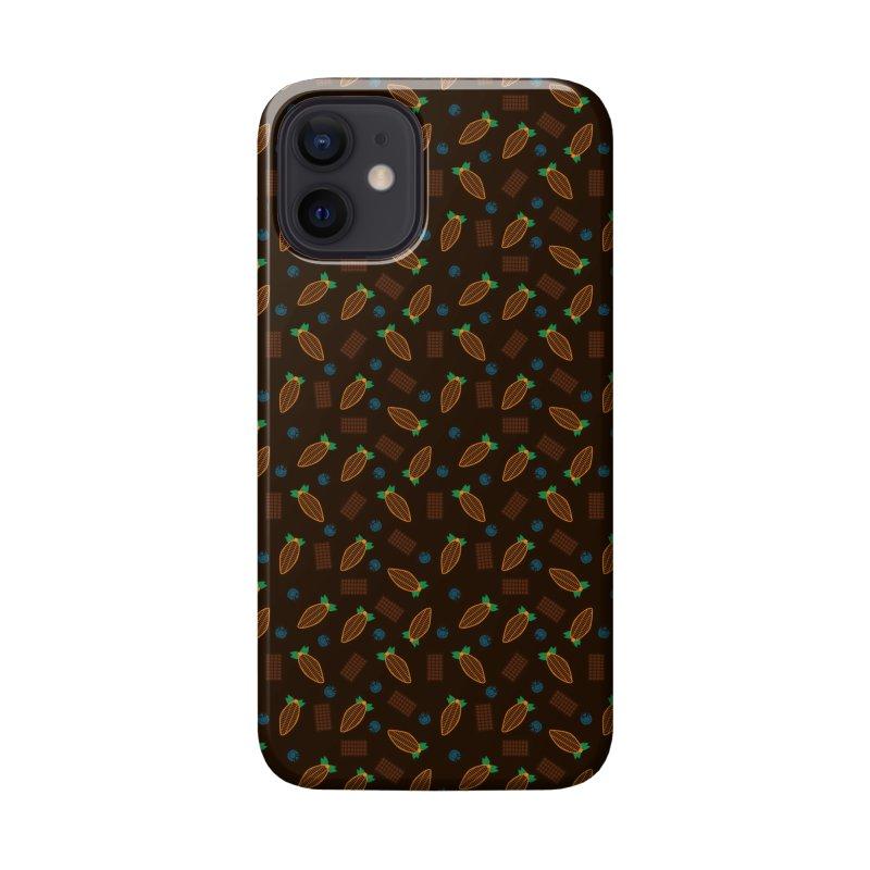 Xocolatl Cocoa Pattern Accessories Phone Case by eligodesign's Artist Shop