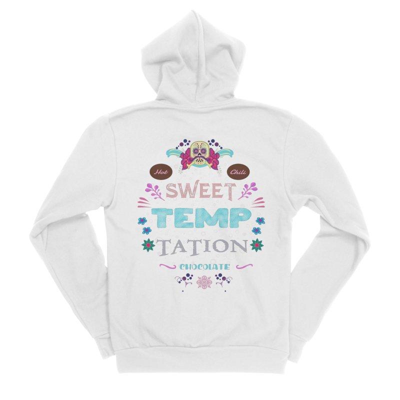 Sweet Temptation Women's Zip-Up Hoody by eligodesign's Artist Shop
