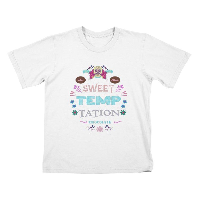 Sweet Temptation Kids T-Shirt by eligodesign's Artist Shop