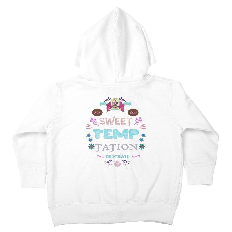 Sweet Temptation Kids Toddler Zip-Up Hoody by eligodesign's Artist Shop