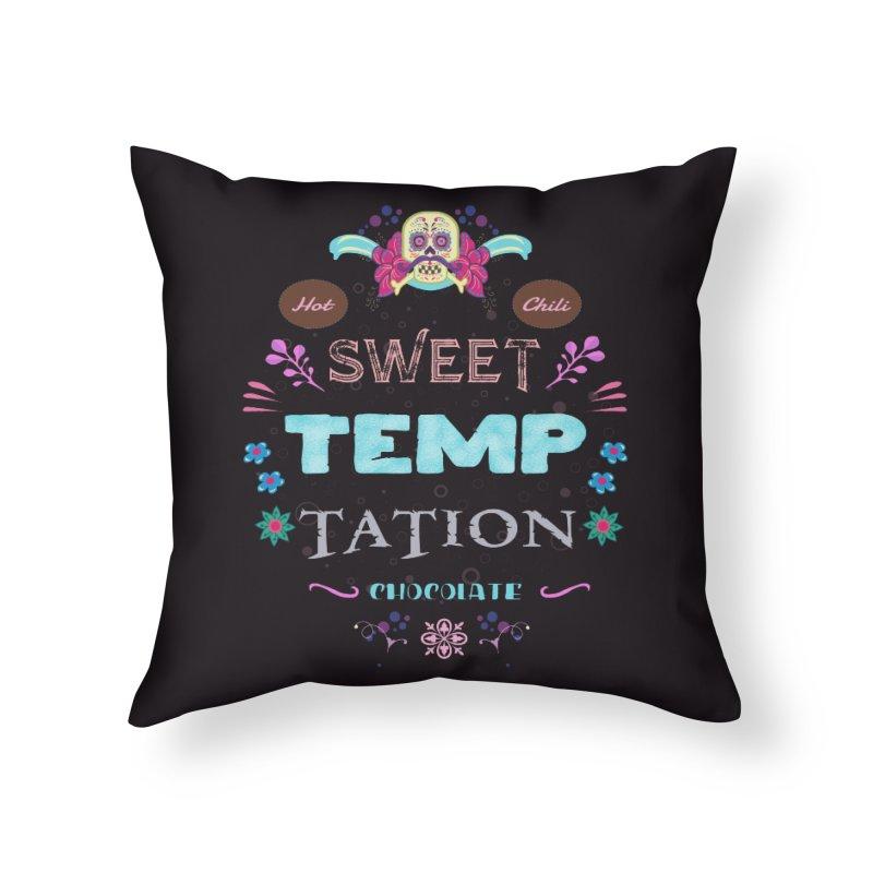 Sweet Temptation Home Throw Pillow by eligodesign's Artist Shop