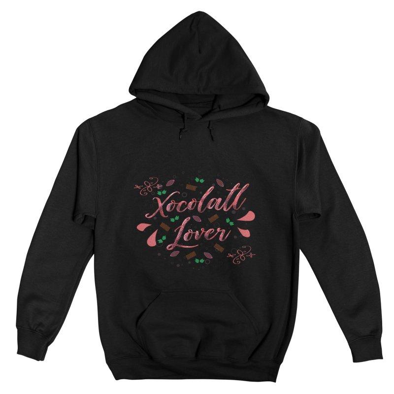 Xocolatl Lover Men's Pullover Hoody by eligodesign's Artist Shop