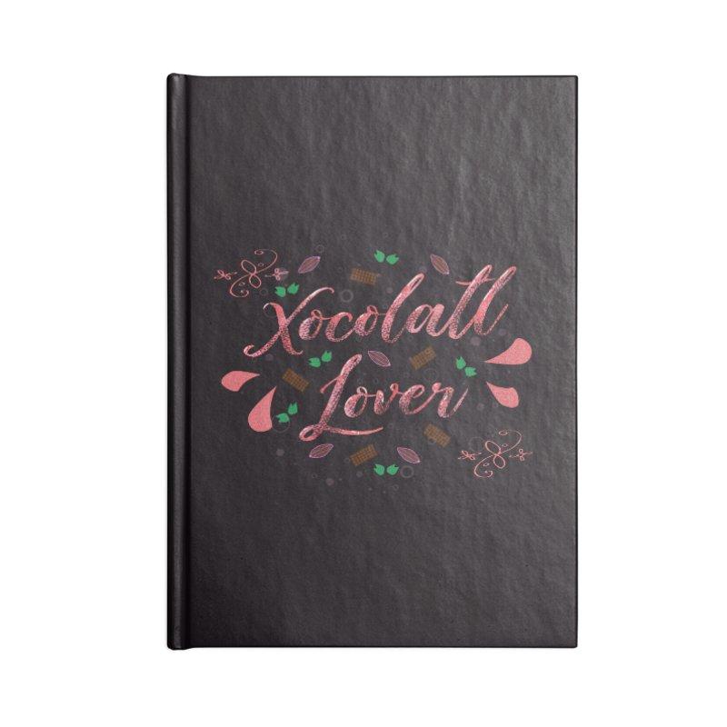 Xocolatl Lover Accessories Notebook by eligodesign's Artist Shop