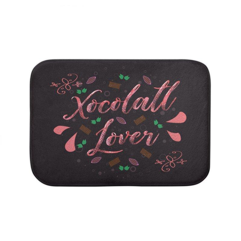 Xocolatl Lover Home Bath Mat by eligodesign's Artist Shop