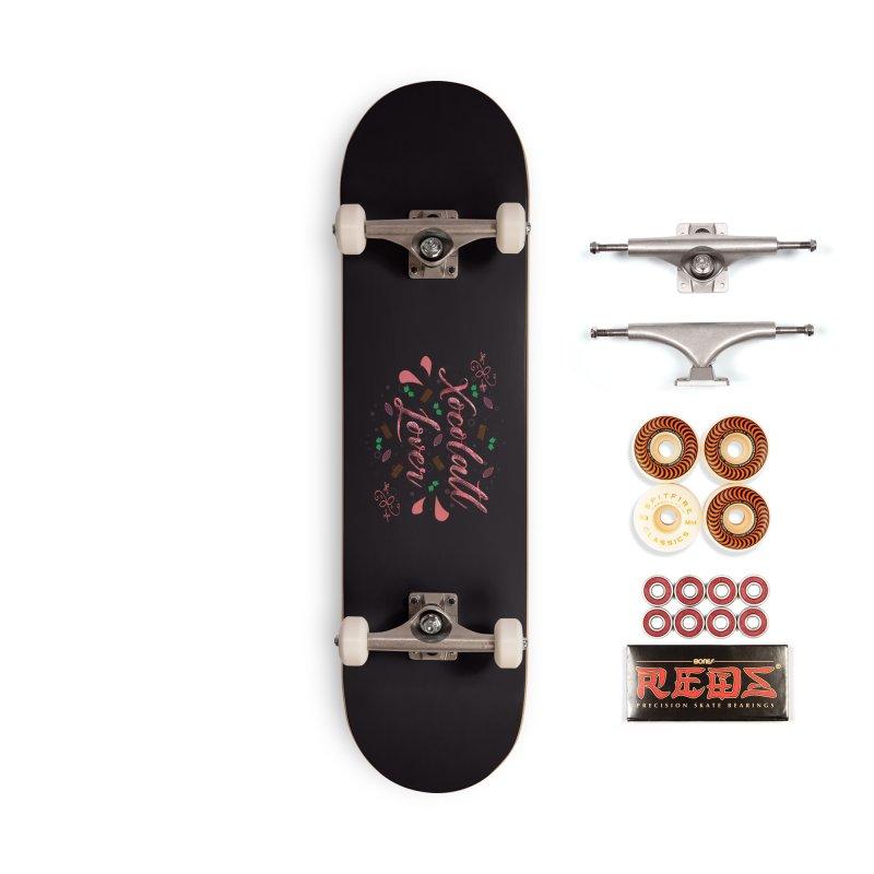 Xocolatl Lover Accessories Skateboard by eligodesign's Artist Shop