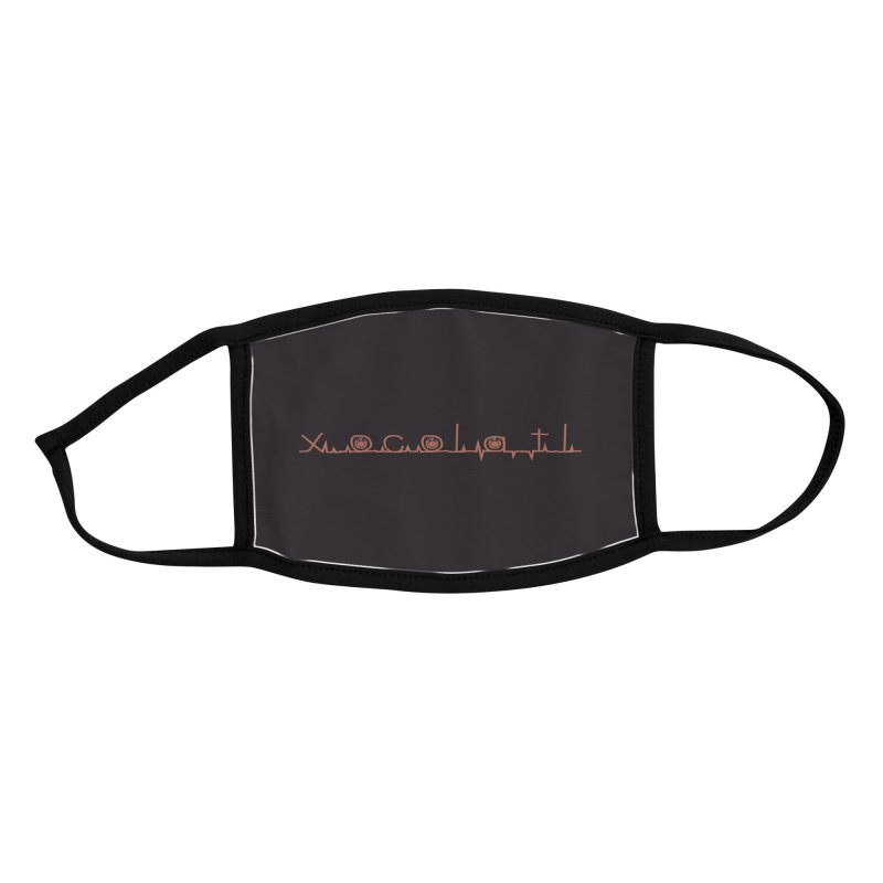 Xocolatl Heartbeat Accessories Face Mask by eligodesign's Artist Shop