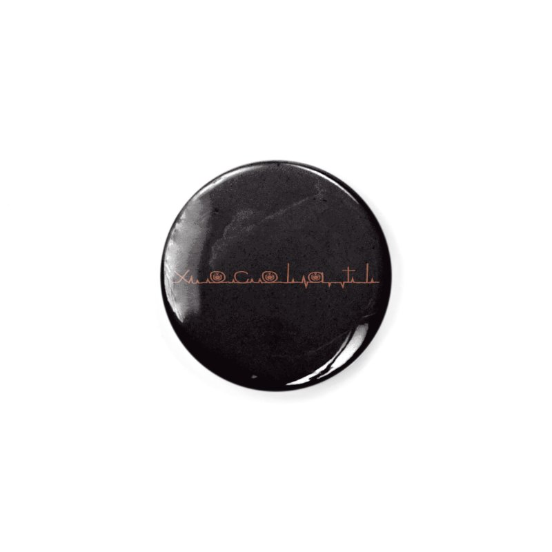 Xocolatl Heartbeat Accessories Button by eligodesign's Artist Shop