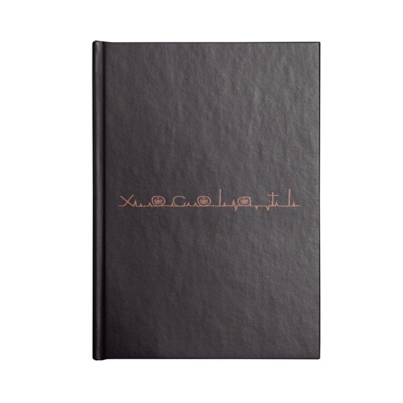 Xocolatl Heartbeat Accessories Notebook by eligodesign's Artist Shop