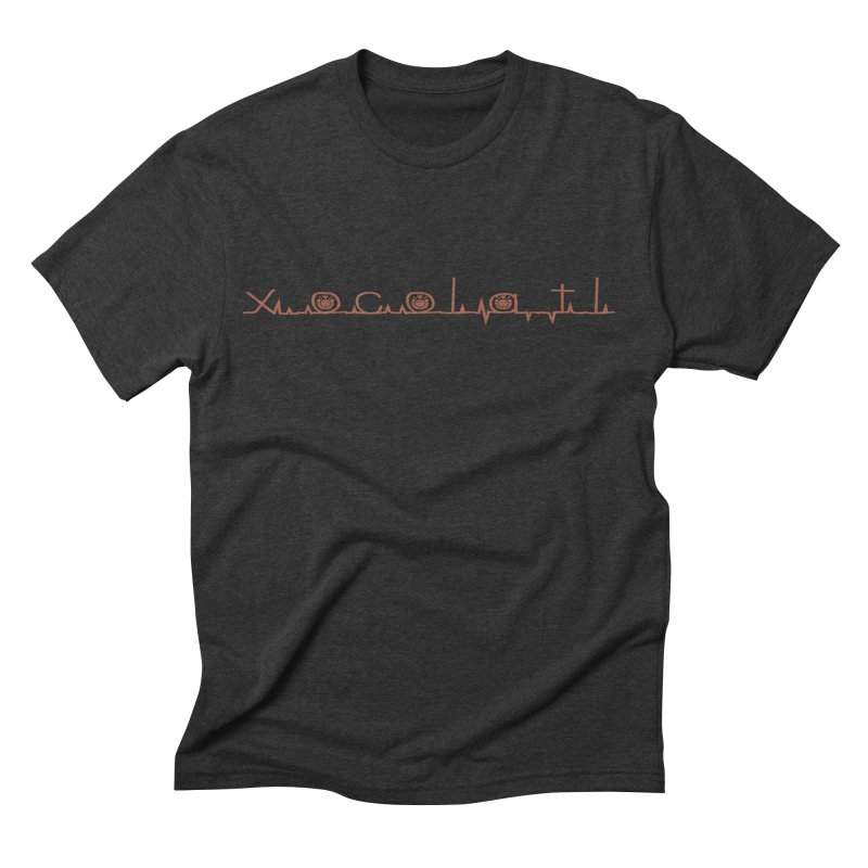 Xocolatl Heartbeat Men's T-Shirt by eligodesign's Artist Shop