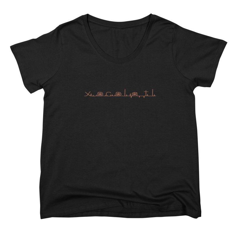 Xocolatl Heartbeat Women's Scoop Neck by eligodesign's Artist Shop
