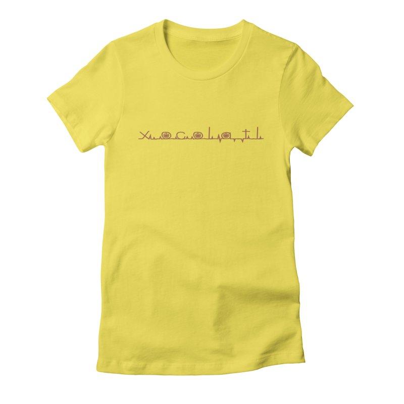 Xocolatl Heartbeat Women's T-Shirt by eligodesign's Artist Shop