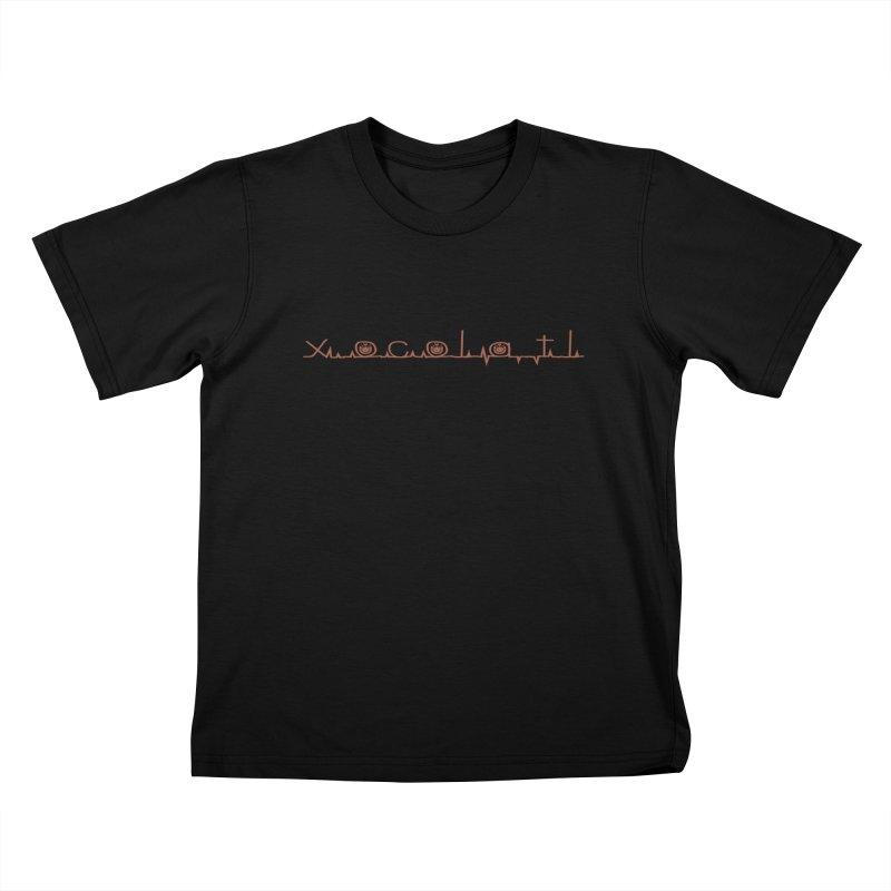 Xocolatl Heartbeat Kids T-Shirt by eligodesign's Artist Shop