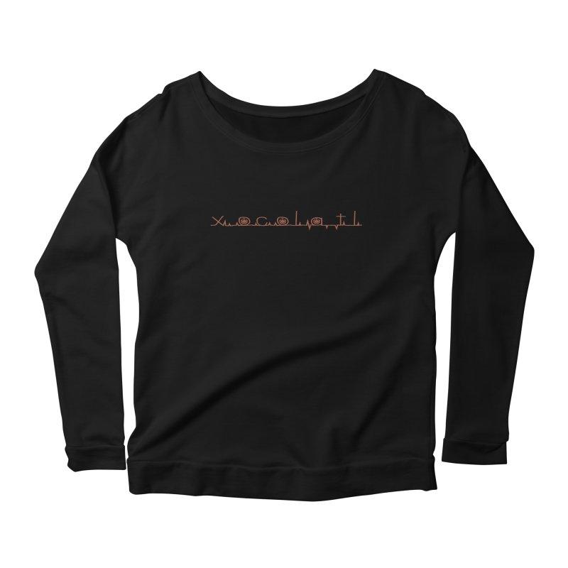 Xocolatl Heartbeat Women's Longsleeve T-Shirt by eligodesign's Artist Shop