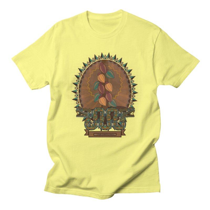 Theobroma Men's T-Shirt by eligodesign's Artist Shop
