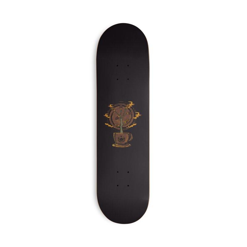 Cocoa Tree Accessories Skateboard by eligodesign's Artist Shop
