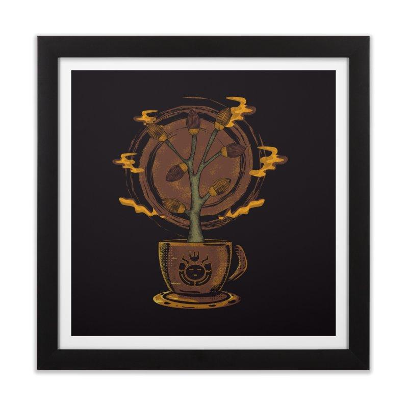 Cocoa Tree Home Framed Fine Art Print by eligodesign's Artist Shop