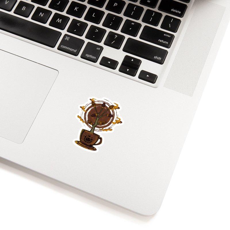 Cocoa Tree Accessories Sticker by eligodesign's Artist Shop
