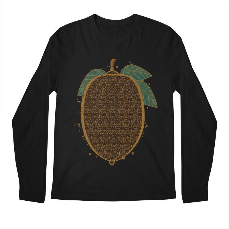 Cocoa Beans Men's Longsleeve T-Shirt by eligodesign's Artist Shop