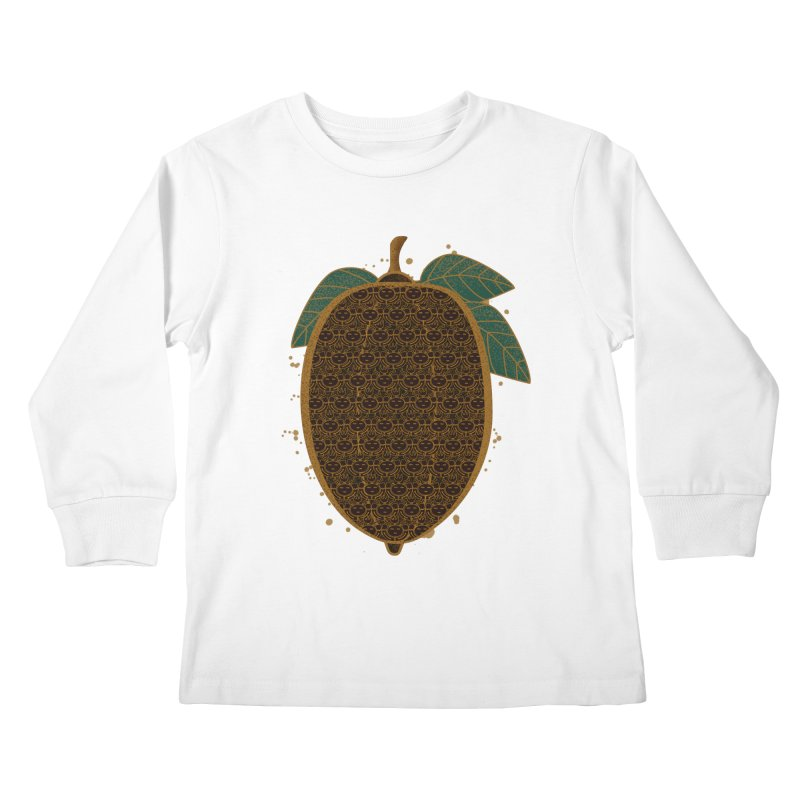Cocoa Beans Kids Longsleeve T-Shirt by eligodesign's Artist Shop