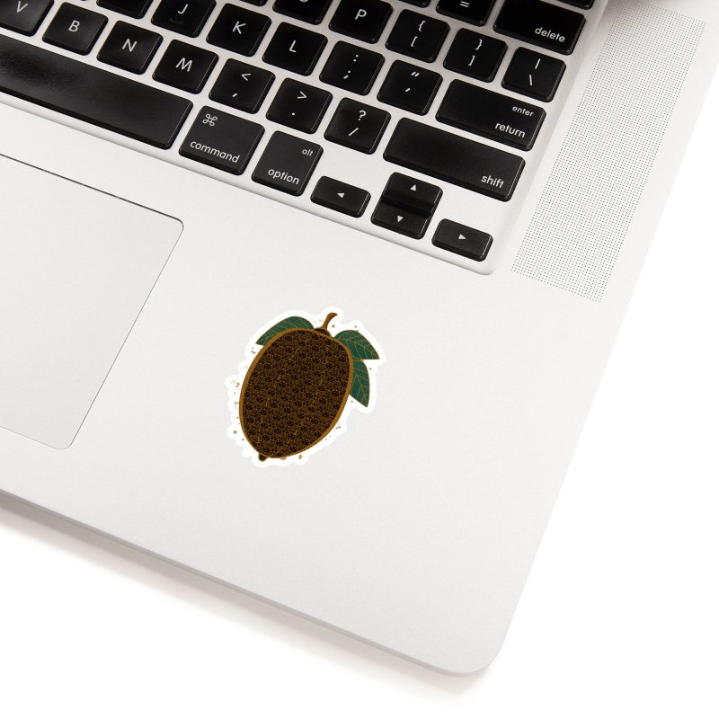 Cocoa Beans Accessories Sticker by eligodesign's Artist Shop