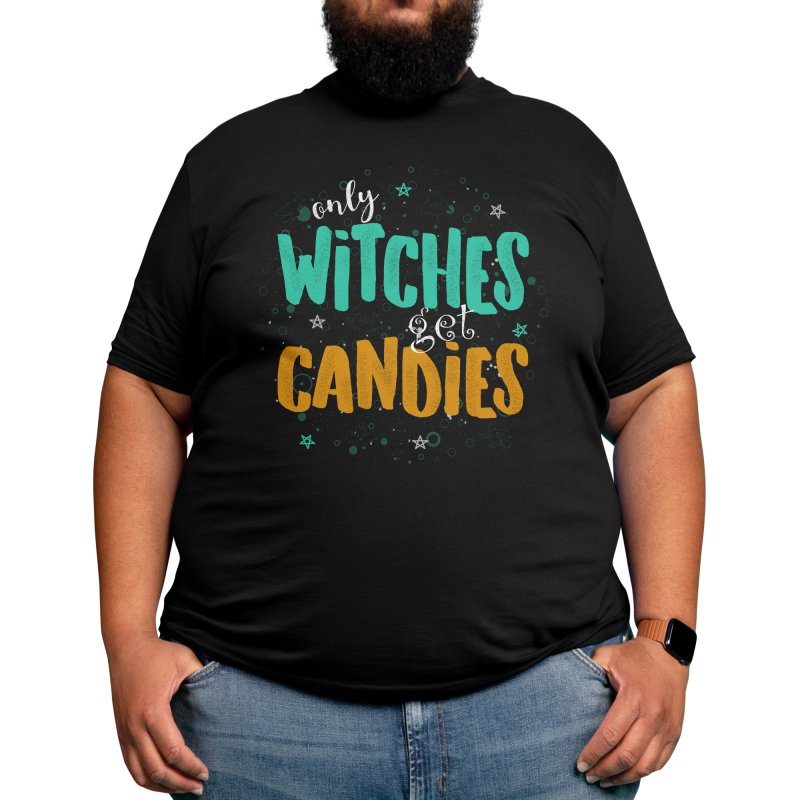 Only Witches Get Candies Men's T-Shirt by eligodesign's Artist Shop