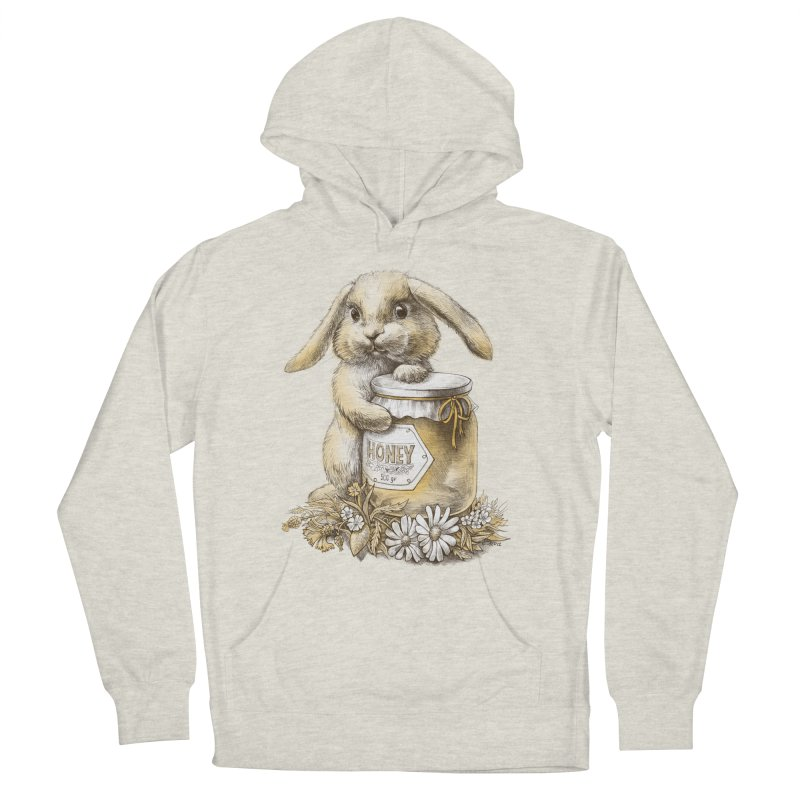 Honey bunny Women's Pullover Hoody by elinakious's Artist Shop