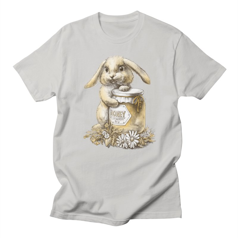 Honey bunny Women's Unisex T-Shirt by elinakious's Artist Shop