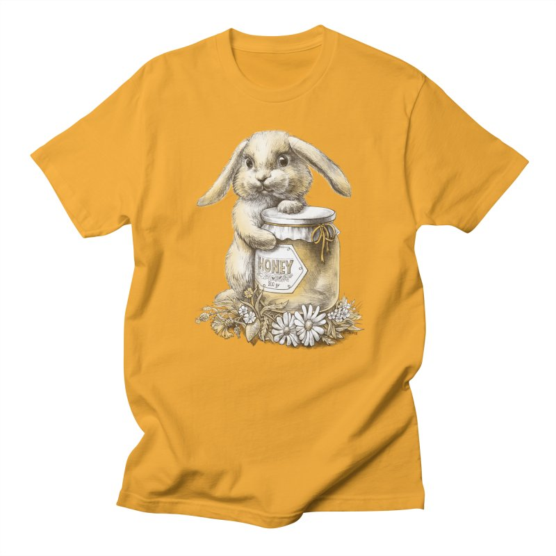Honey bunny Women's Unisex T-Shirt by elinakious's Artist Shop