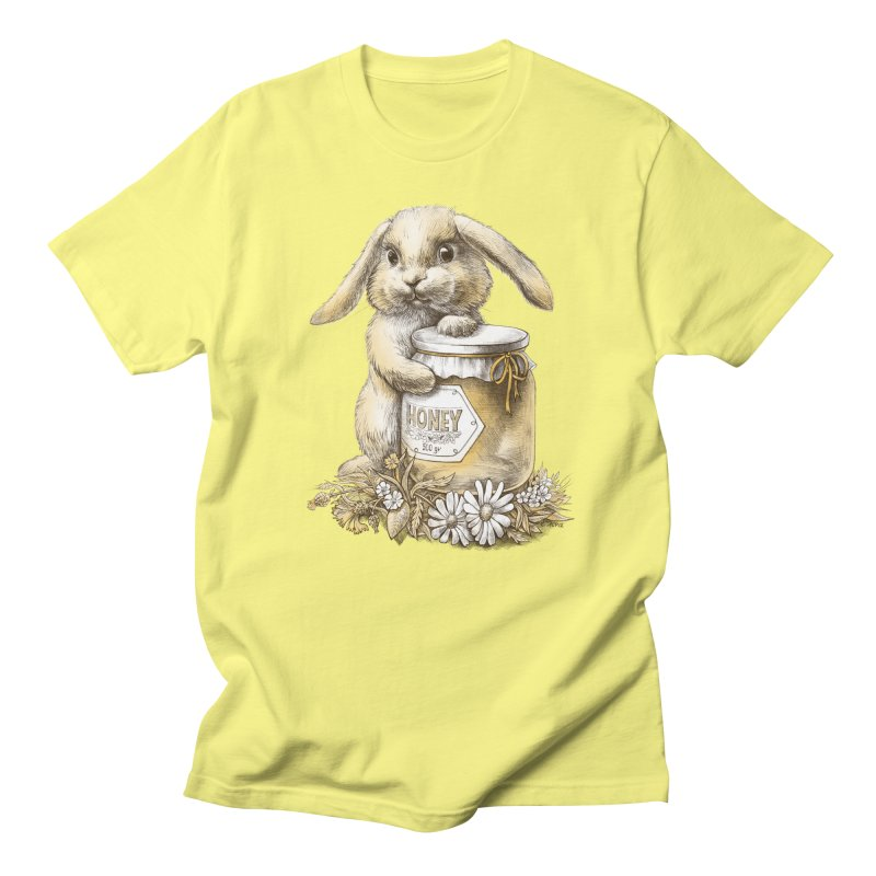 Honey bunny Men's T-Shirt by elinakious's Artist Shop