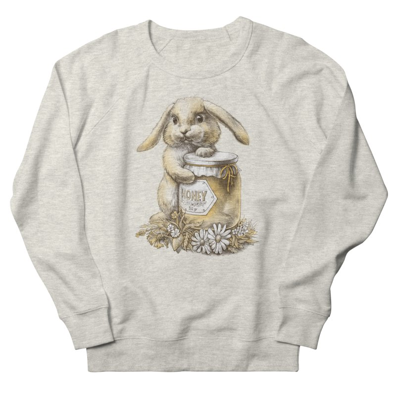 Honey bunny Women's Sweatshirt by elinakious's Artist Shop