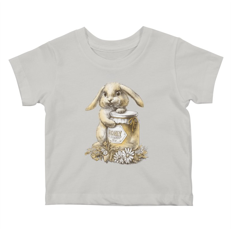 Honey bunny Kids Baby T-Shirt by elinakious's Artist Shop