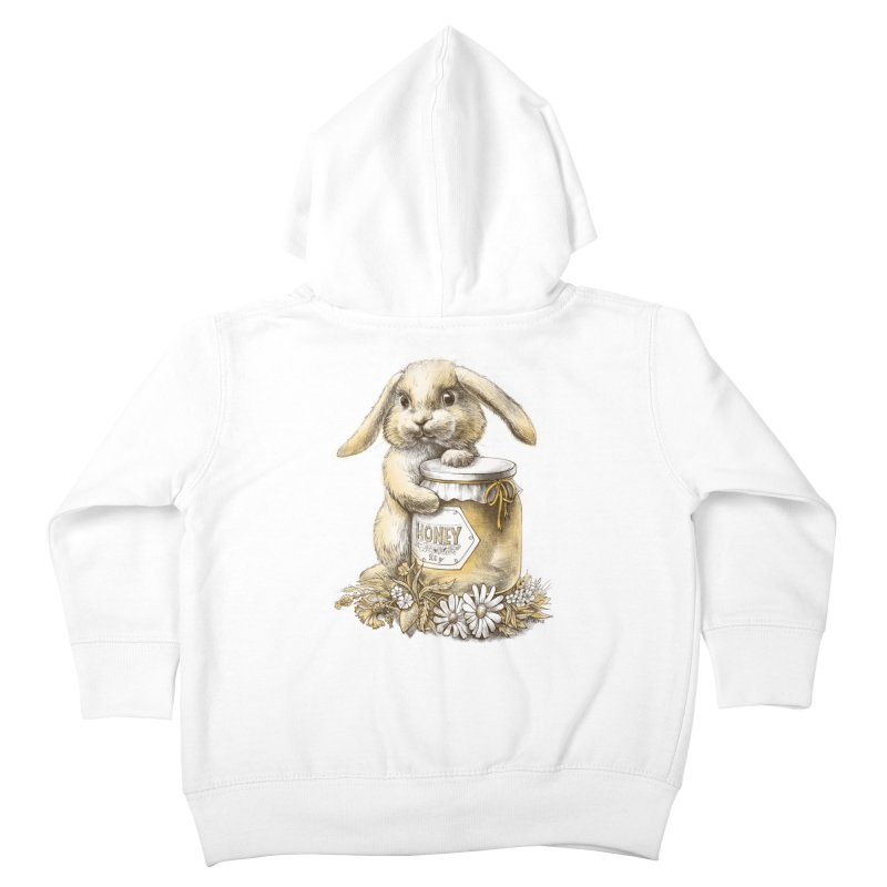 Honey bunny Kids Toddler Zip-Up Hoody by elinakious's Artist Shop