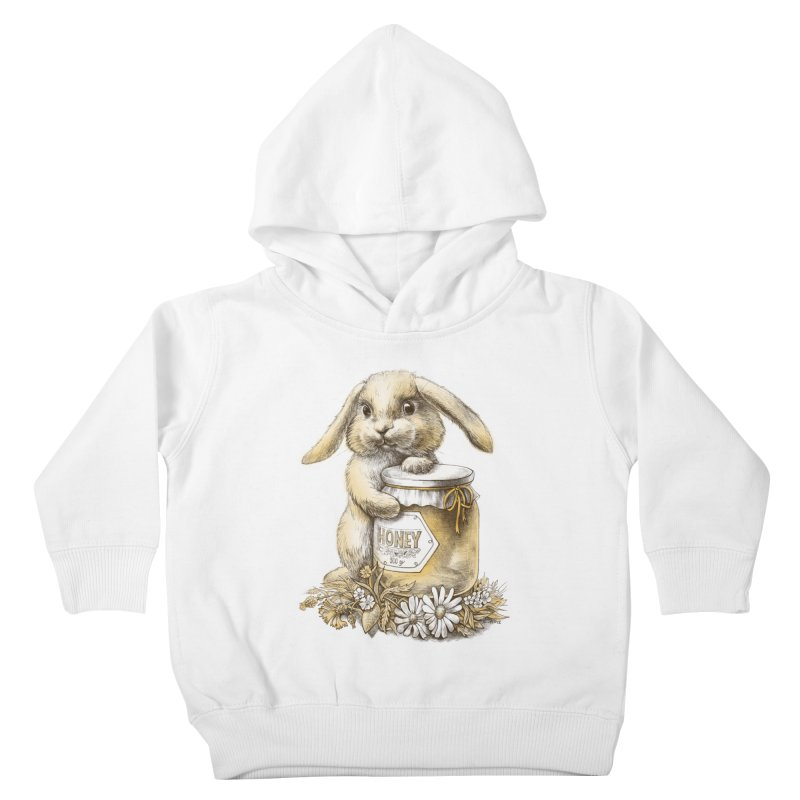 Honey bunny Kids Toddler Pullover Hoody by elinakious's Artist Shop