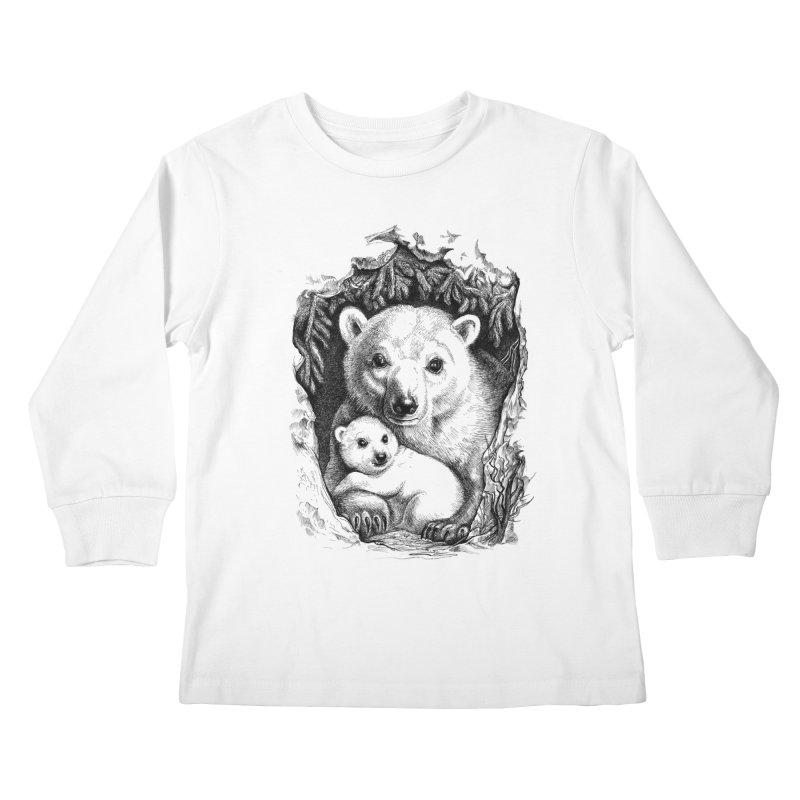 Polar bear family   by elinakious's Artist Shop