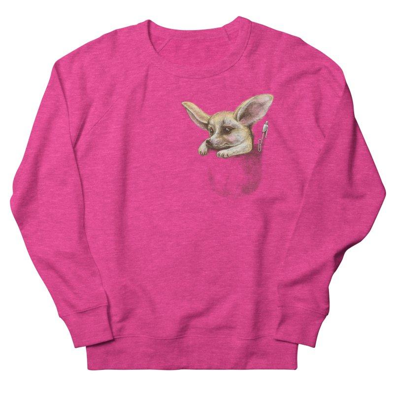 Pocket fennec fox Men's Sweatshirt by elinakious's Artist Shop